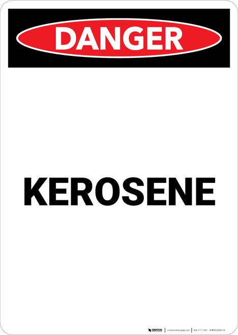 Kerosene - Portrait Wall Sign