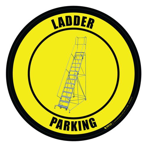 Ladder Parking - Floor Sign