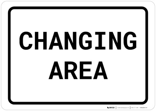 Changing Area Landscape - Wall Sign