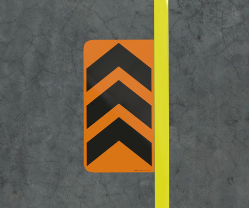 Chevron - Floor Marking Sign
