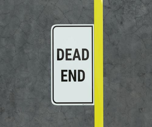 Dead End - Floor Marking Sign