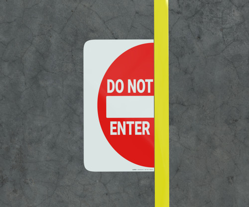 Do Not Enter - Floor Marking Sign