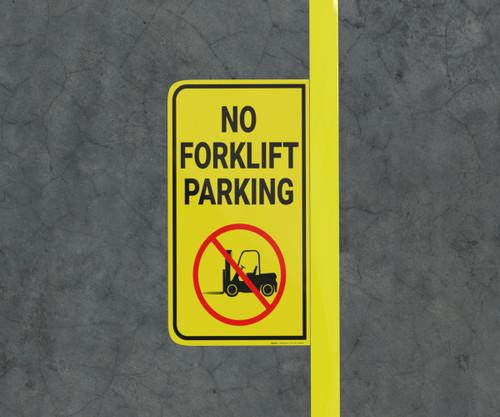 No Forklift Parking - Floor Marking Sign