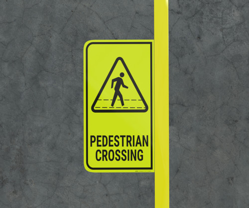 Pedestrian Crossing - Floor Marking Sign