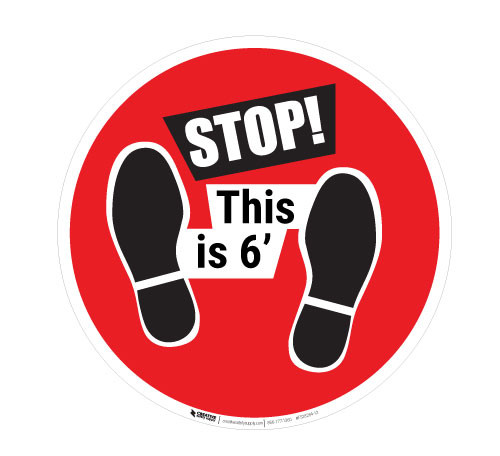 STOP - This is 6'