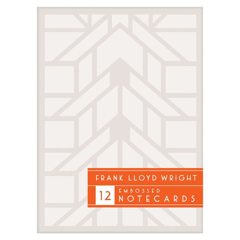 Frank Lloyd Wright Embossed Designs Notecard Set