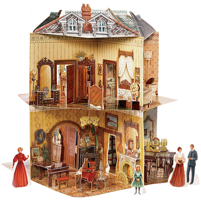Pop-Up Victorian Dollhouse