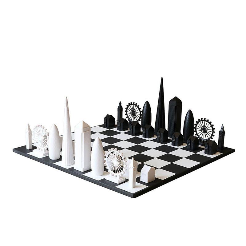 London Skyline Chess Set