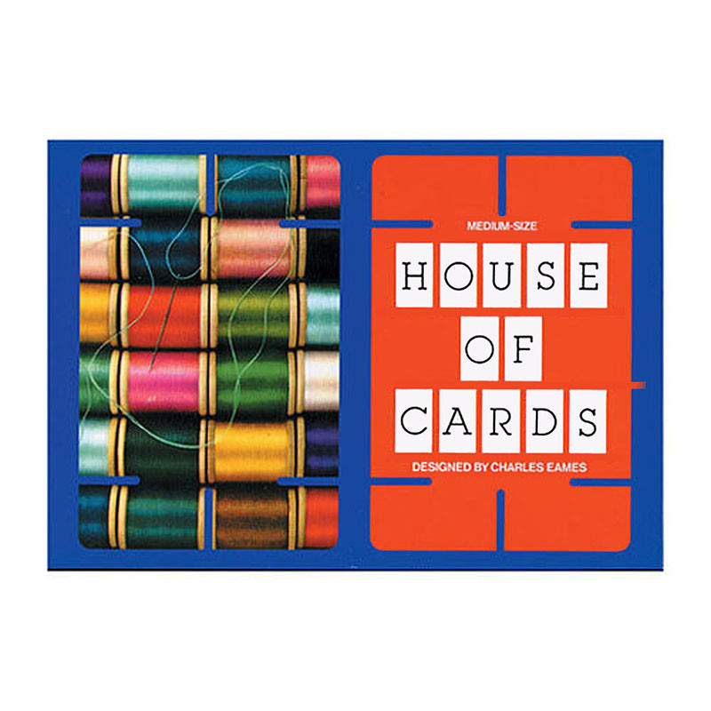 Charles and Ray Eames House of Cards - Medium
