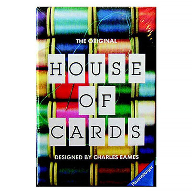 Charles and Ray Eames House of Cards - Small