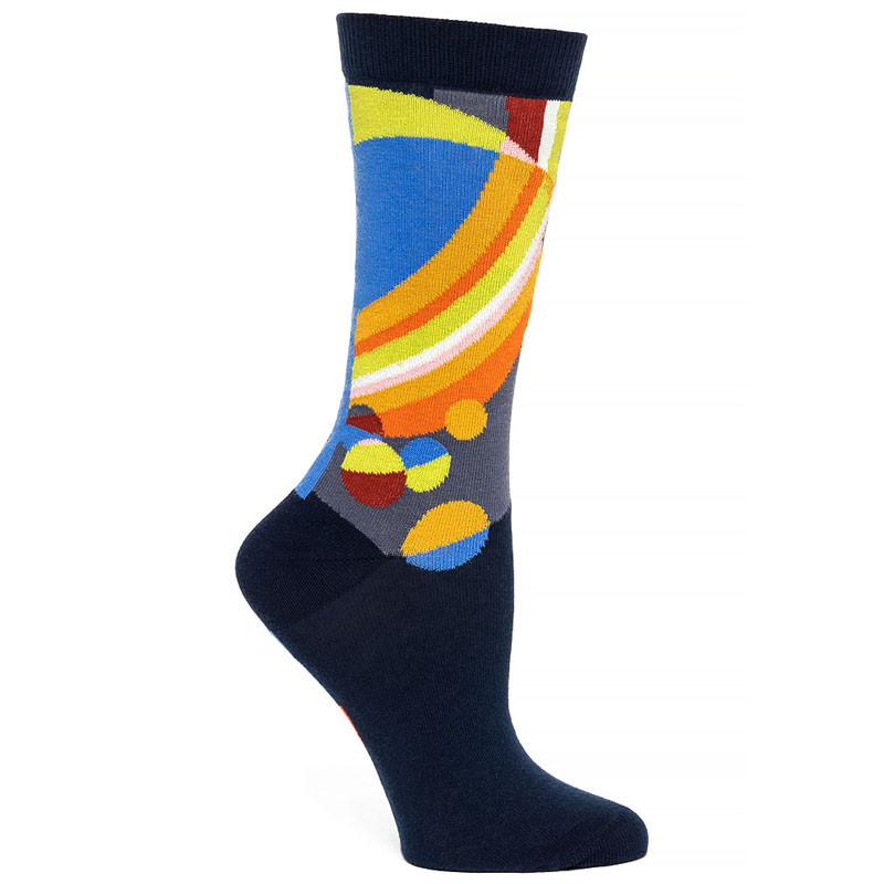 Frank Lloyd Wright March Balloons Women's Socks - Navy