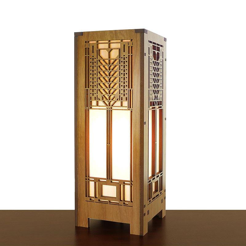 Frank Lloyd Wright Tree of Life Mini Lightbox Accent Lamp