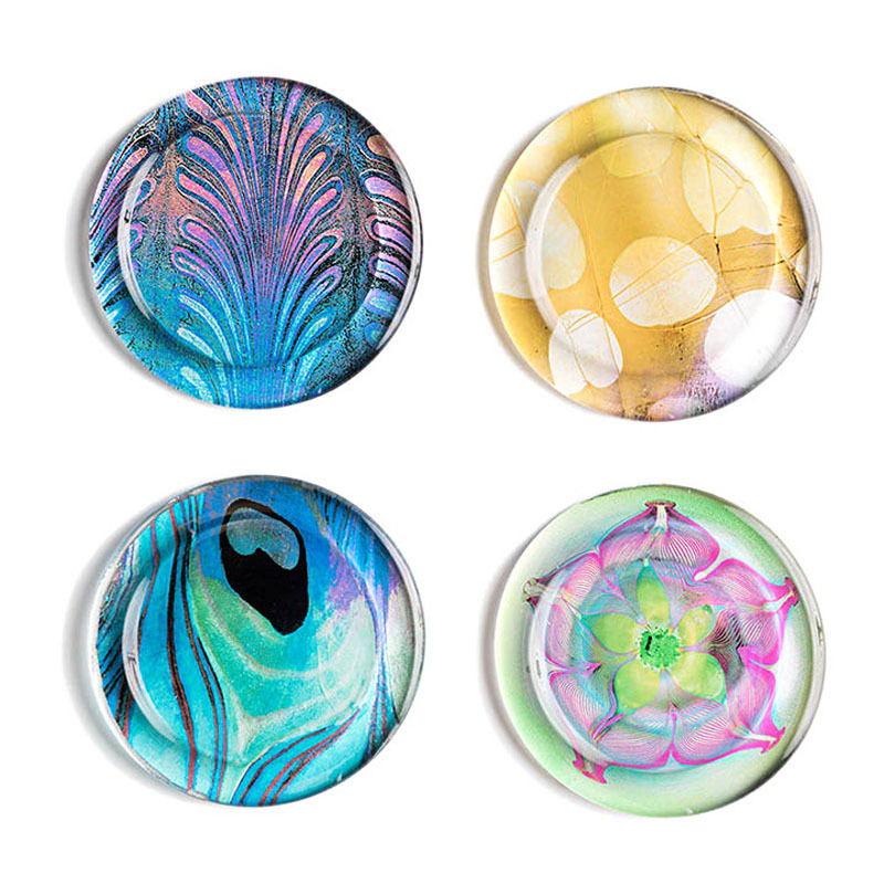 Louis C. Tiffany Favrile Coasters