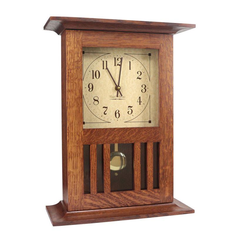 Amish Mission Mantel Clock