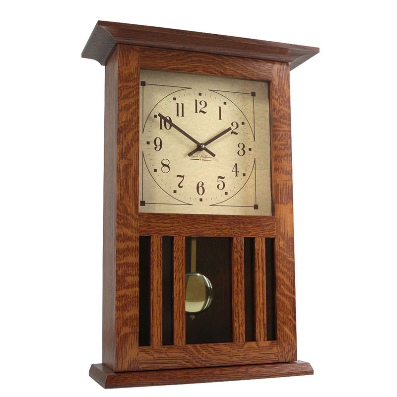 Amish Mission Wall Clock
