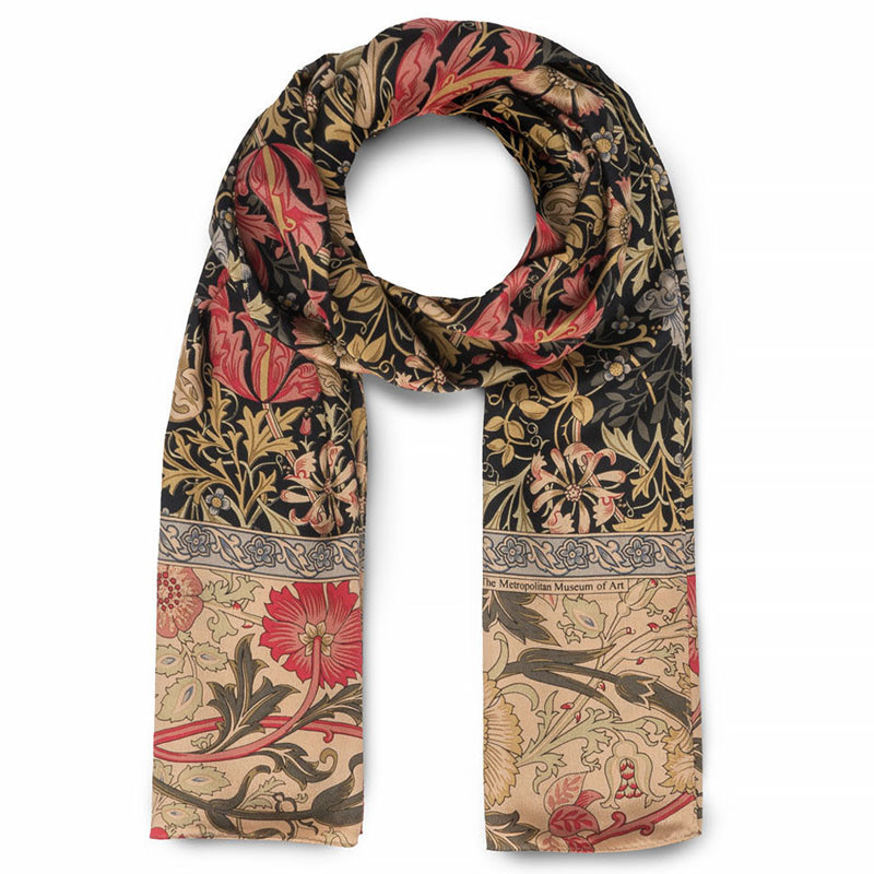 William Morris Compton Silk Scarf