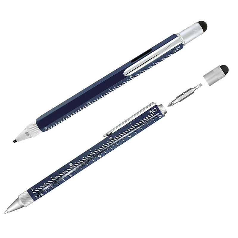 Multifunction Stylus Tool Pen - Blue