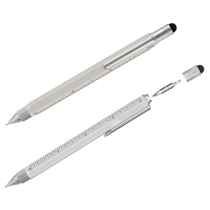 Multifunction Stylus Tool Pencil - Silver