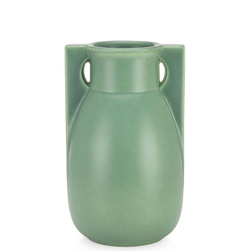 Teco Two Buttress Vase - Green