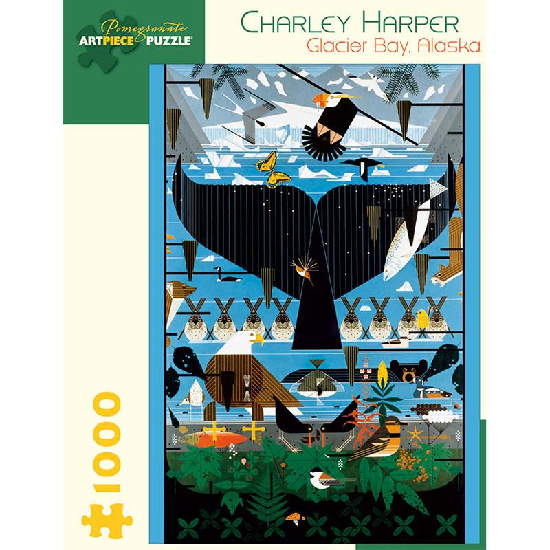 Charley Harper Glacier Bay 1000 Piece Jigsaw Puzzle