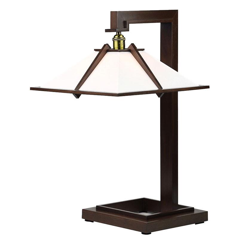 Frank Lloyd Wright Taliesin 1 Table Lamp - Walnut