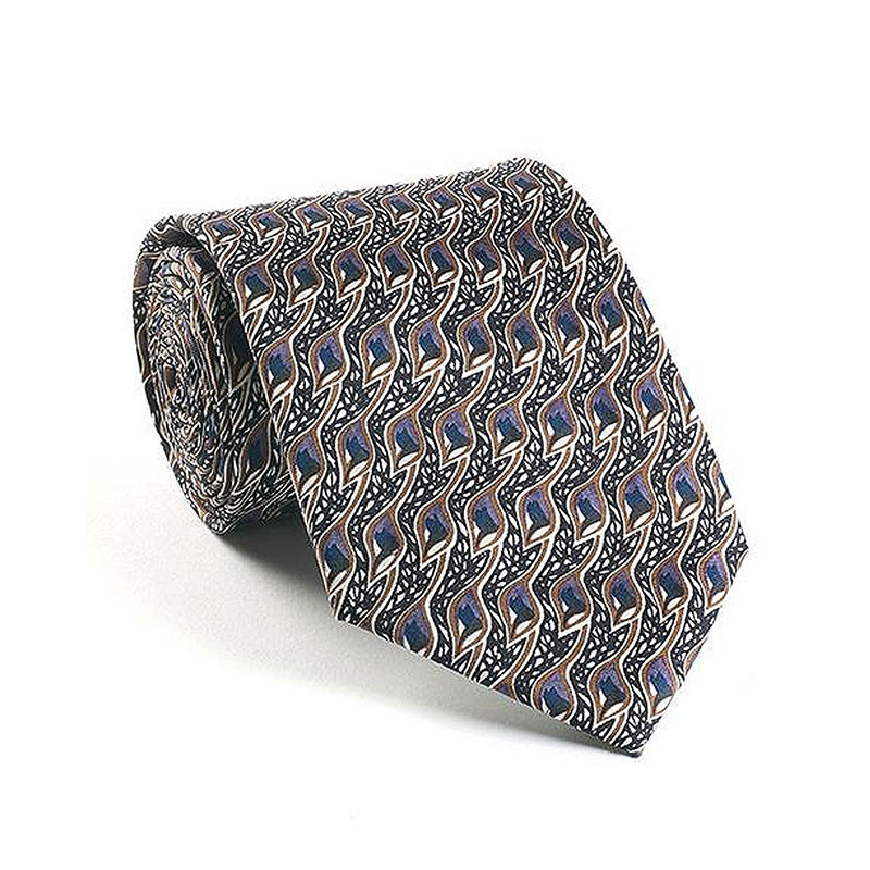 Charles Rennie Mackintosh Peacock Eyes Silk Tie