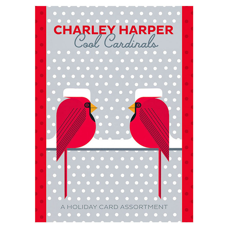Charley Harper Cool Cardinals Holiday Card Assortment