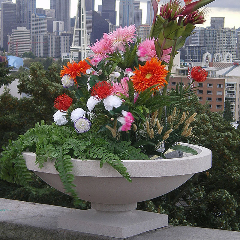 Frank Lloyd Wright Small Dana House Planter Vase