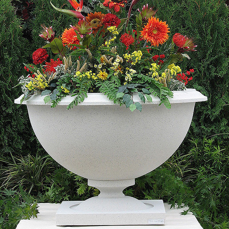 Frank Lloyd Wright Large Heller House Planter Vase