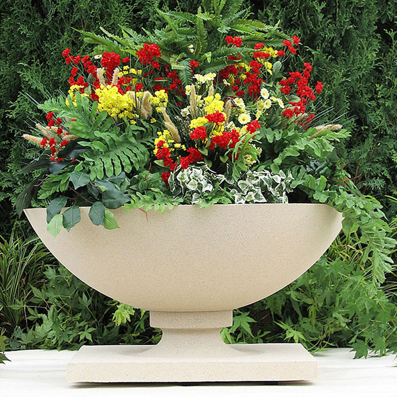 Frank Lloyd Wright Large Allen House Planter Vase