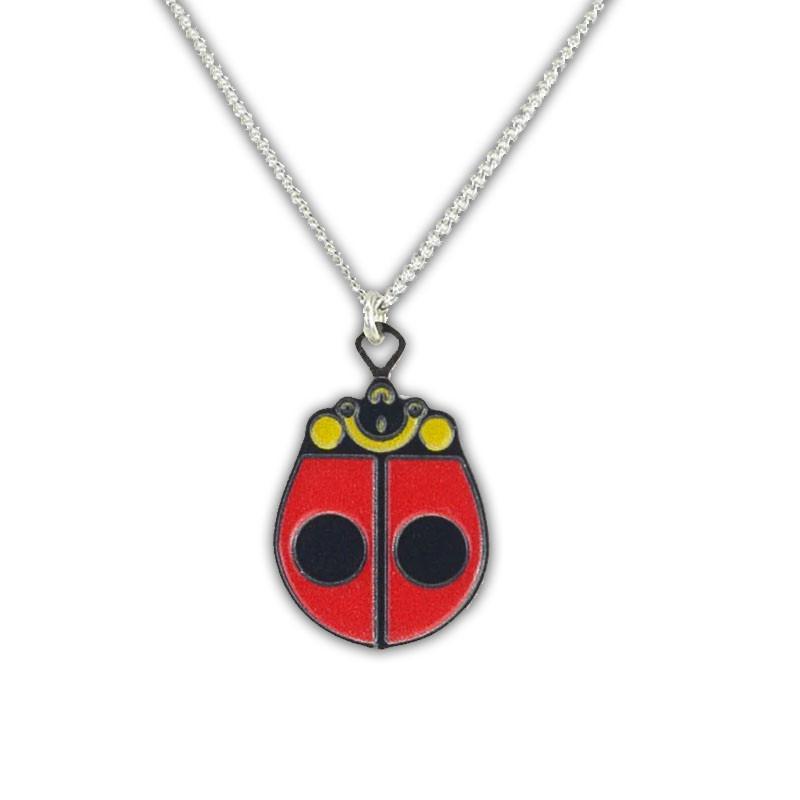 Charley Harper Ladybug Pendant