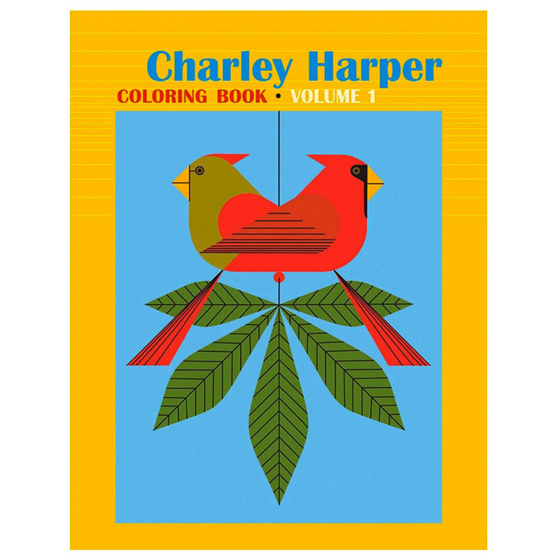 Charley Harper Coloring Book Volume 1