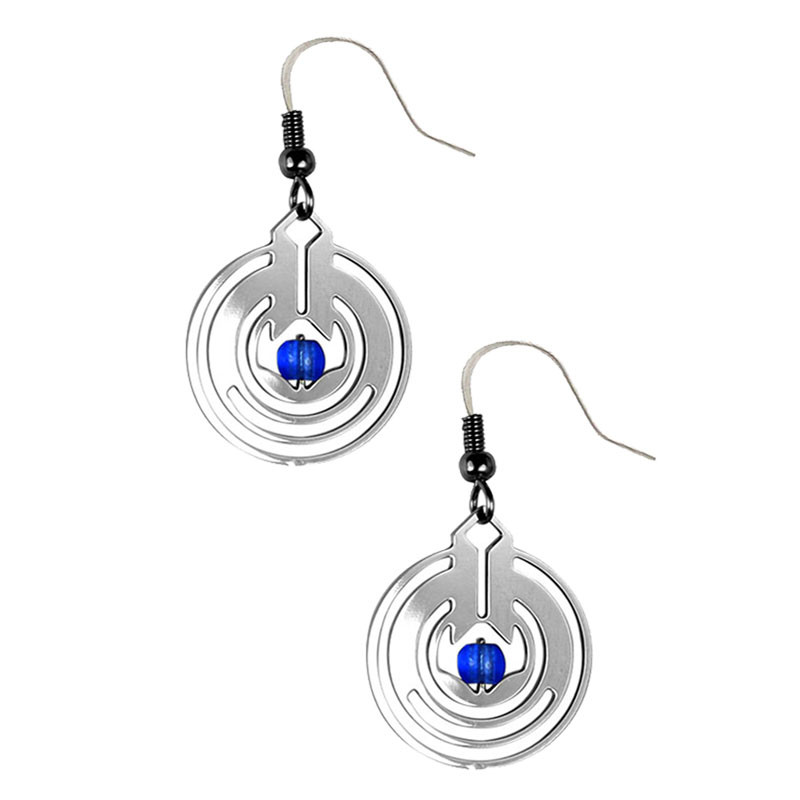 Frank Lloyd Wright April Showers II Earring - Blue