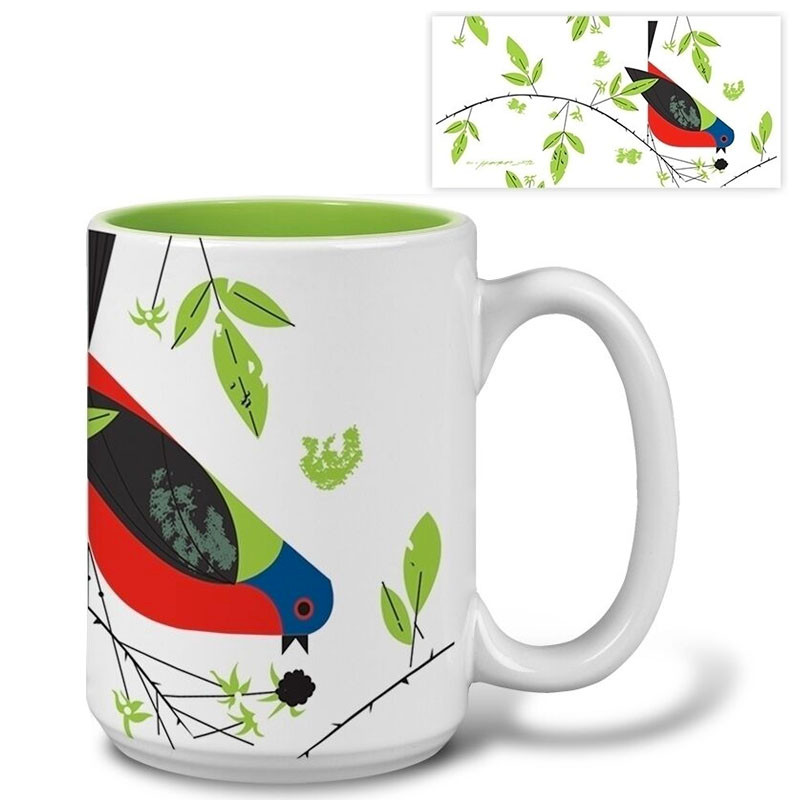 Charley Harper Painted Bunting Mug