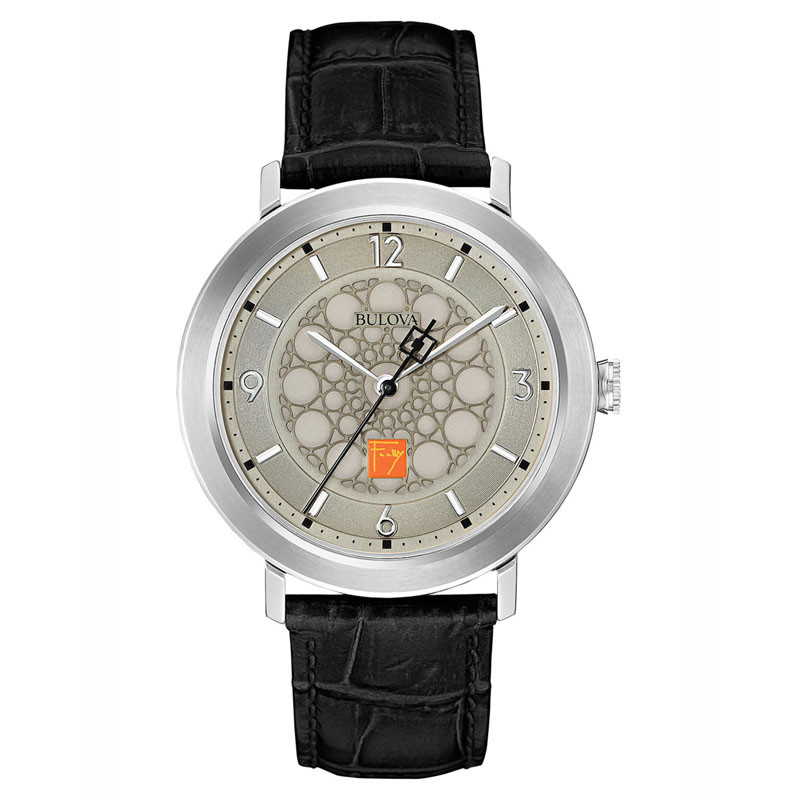 Frank Lloyd Wright S.C. Johnson Watch Silver