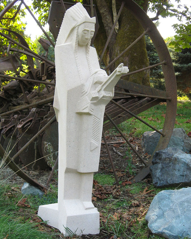 Frank Lloyd Wright Nakomis Sculpture