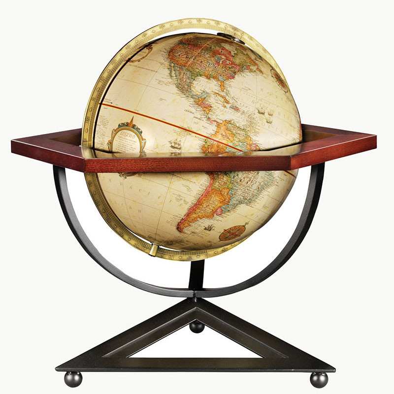 The Frank Lloyd Wright Hexagon Desk Globe