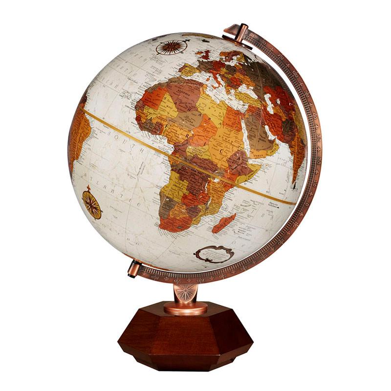 Frank Lloyd Wright Hexhedra Desk Globe