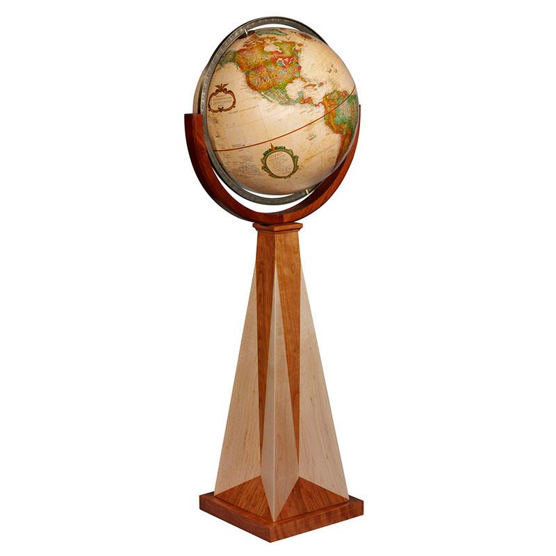 Frank Lloyd Wright Obelisk Floor Globe