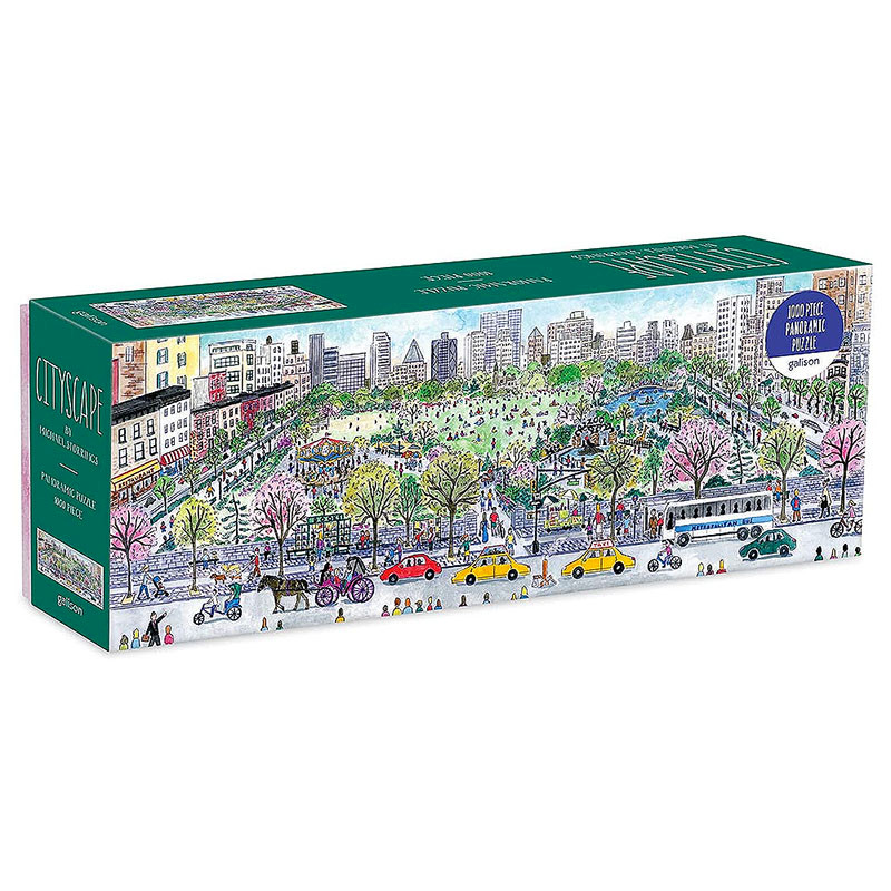 New York Cityscape by Michael Storrings 1000 Piece Jigsaw Puzzle