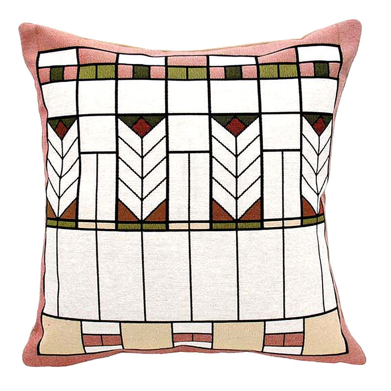 "Prairie Chevron Tapestry Pillow - 18"" x 18"""