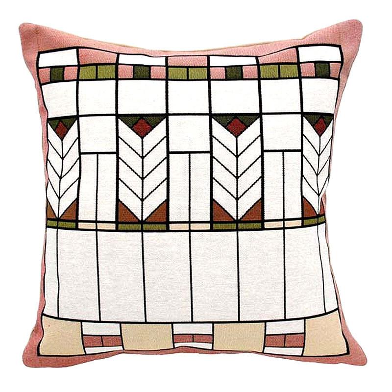 "Prairie Chevron Tapestry Pillow - 18"" x 18"""