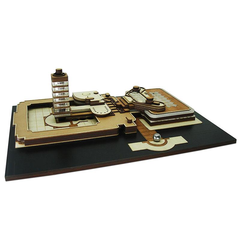 S.C. Johnson Wax Replica Kit by Model Landmarks