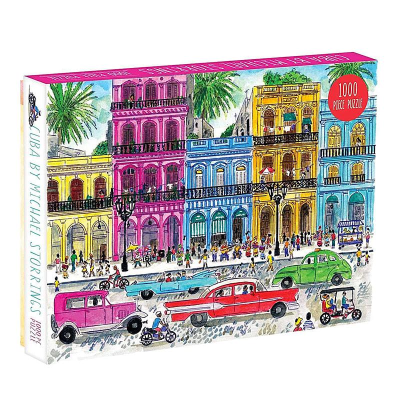 Cuba by Michael Storrings 1000 Piece Jigsaw Puzzle