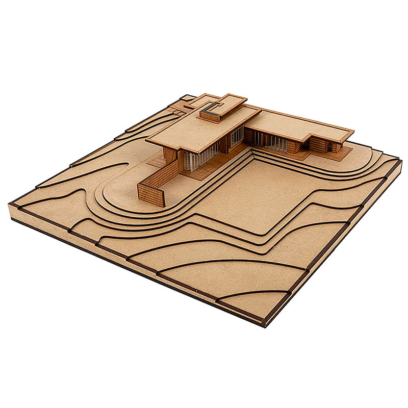 First Usonian House by Model Landmarks