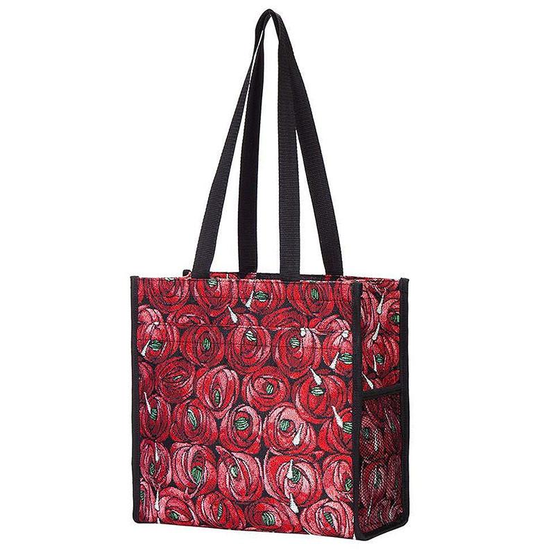 Charles Rennie Mackintosh Rose and Teardrop Tapestry Shopper Bag