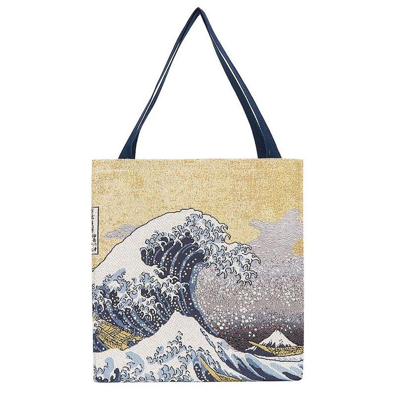Hokusai Great Wave Shopping Bag