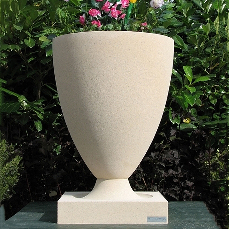 Frank Lloyd Wright Large American Systems Built Houses Vase