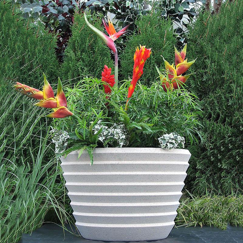 Frank Lloyd Wright Large Johnson Wax Building Vase