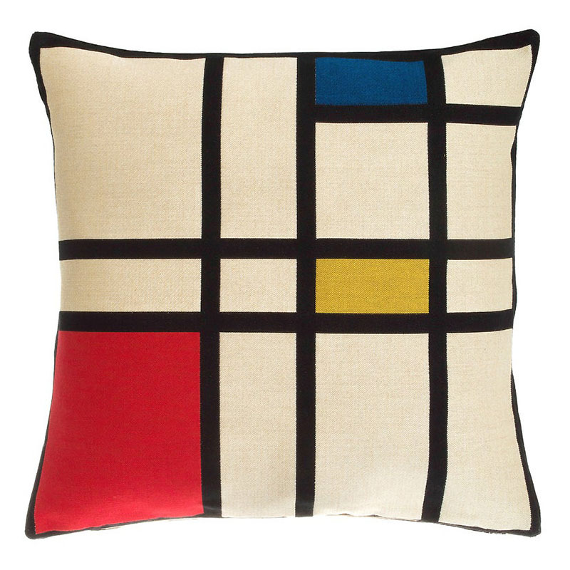 Mondrian Tapestry Pillow